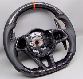 McLAREN carbon fiber enhanced - custom steering wheel